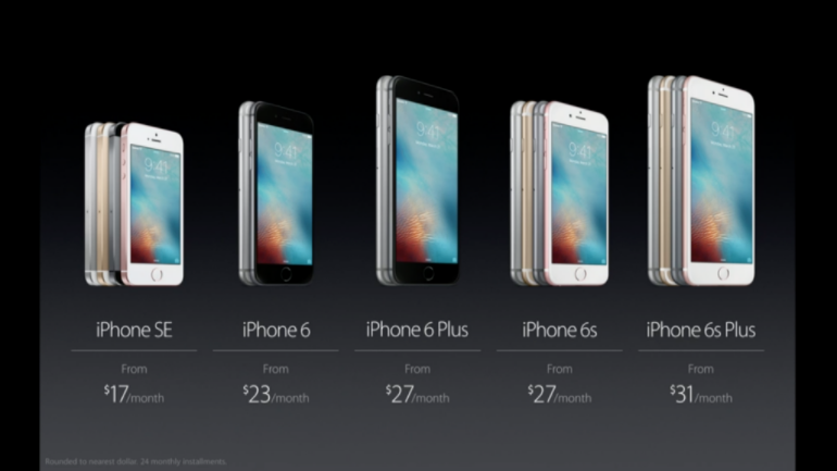 iPhone SE and other iPhones