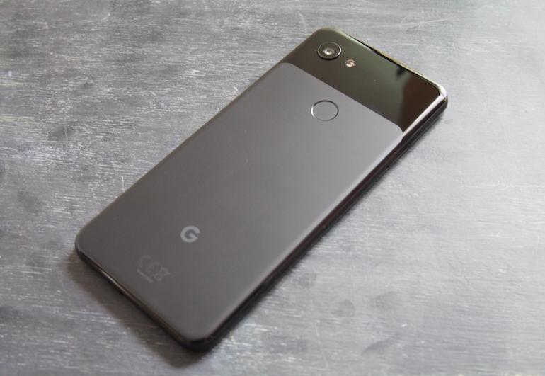 Google Pixel 3a black back