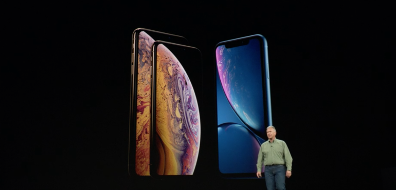 iPhone XS XS Max and XR homescreens hero size