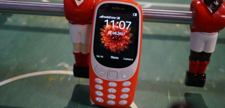 Nokia 3310 new table football hero size