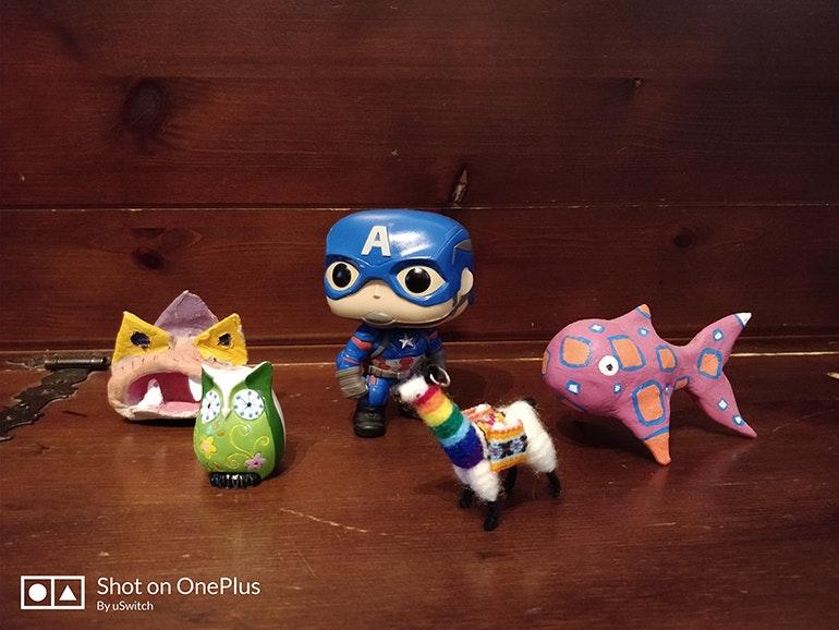 OnePlus 5 portrait mode toys