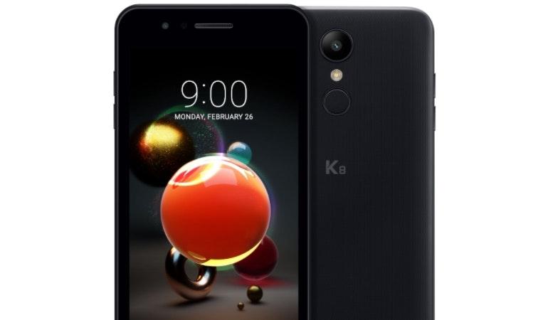 LG K8 Aurora Black 2018