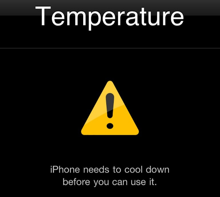 iPhone-temperature-warning