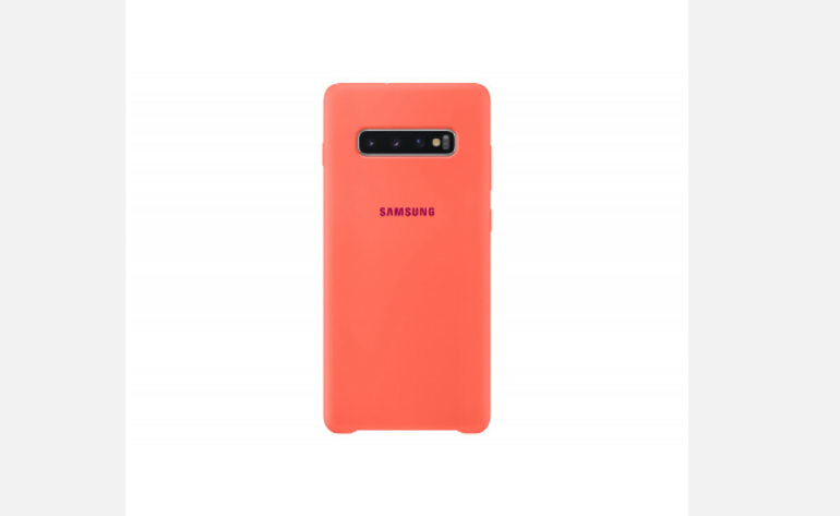 Samsung Galaxy S10 LED case red