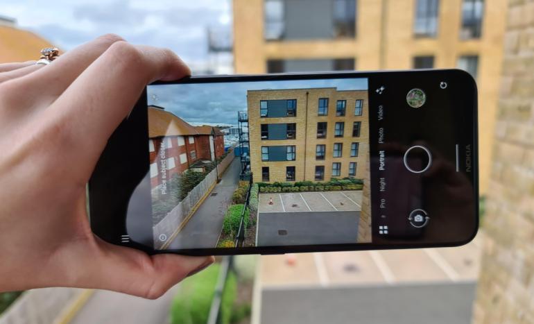 Huawei Mate 40 Pro camera interface