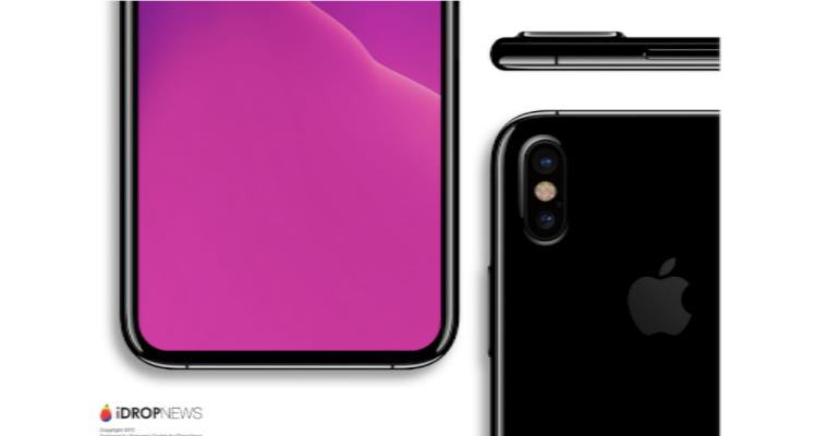 iPhone 8 geskin render detail