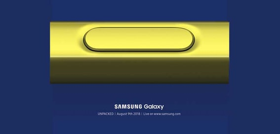 Samsung Galaxy Note 9 pictured with new S-Pen stylus