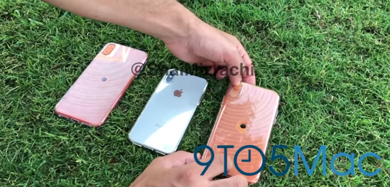 iPhone X Plus and iPhone 9 star in new video