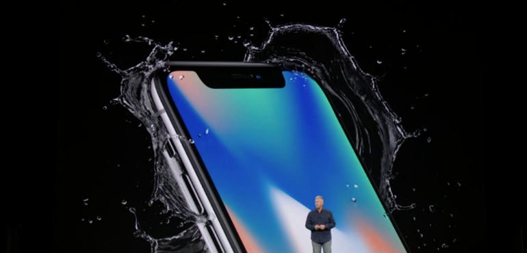 iPhone X water resistant hero