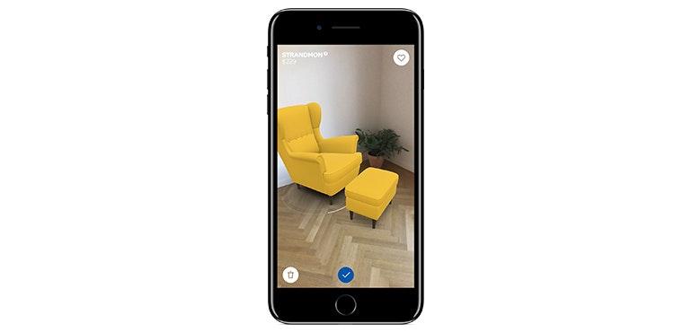 Ikea Place app iPhone 8