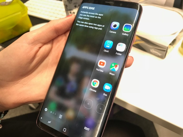 SAMSUNG EDGE APPS S9