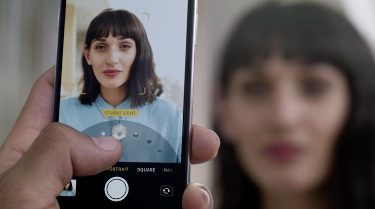 iPhone X portrait modes